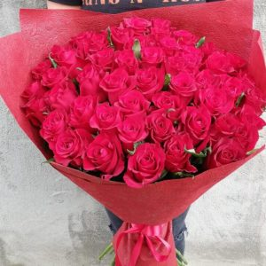 """""""Guns&roses"""" bouquet"""