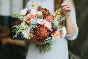 цветы в букете кипр