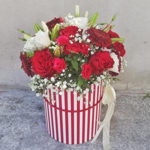 Крупные красные розы